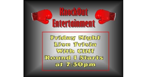 Knockout Entertainment Trivia