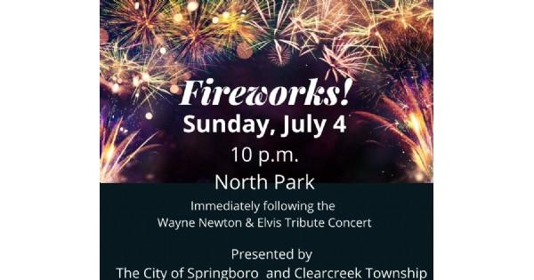 City of Springboro Fireworks