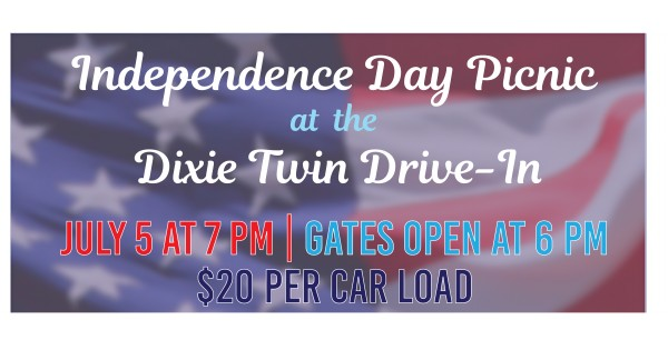Independence Day Picnic at the Dixie Twin Drive-In