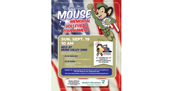 Mouse Memorial Volleyball Tournament
