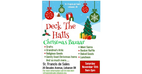 Deck the Halls Christmas Bazaar