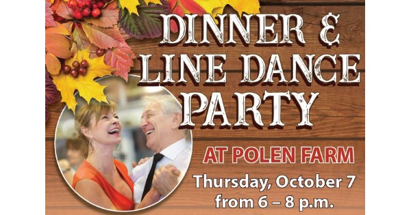 Dinner & Line Dance Party for 55+