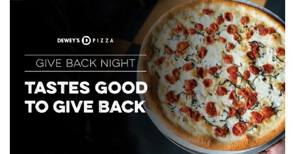 Dewey's Pizza Give Back Night: Humane Society of Greater Dayton