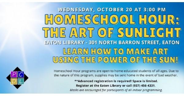 Homeschool Hour: The Art of Sunlight