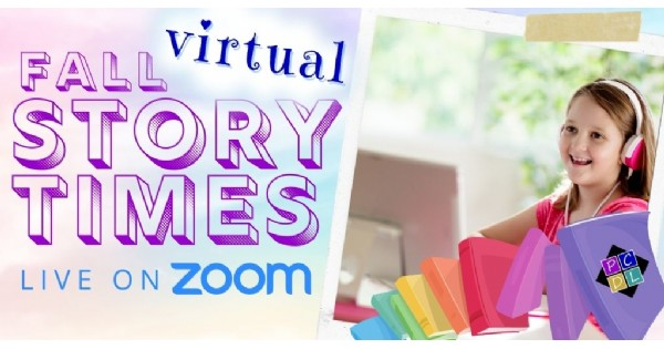 Storytime LIVE on Zoom