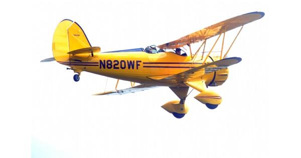 WACO Air Museum Biplane Rides