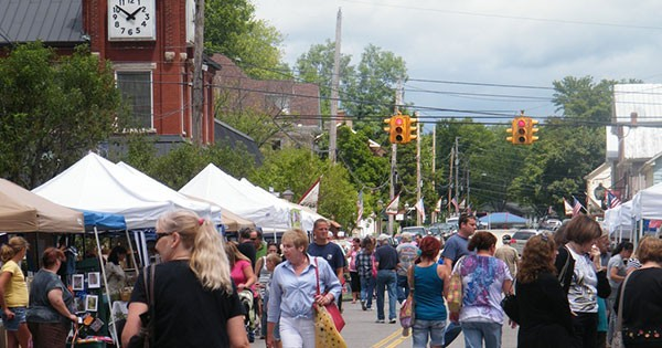 Waynesville Second Saturday Street Faire