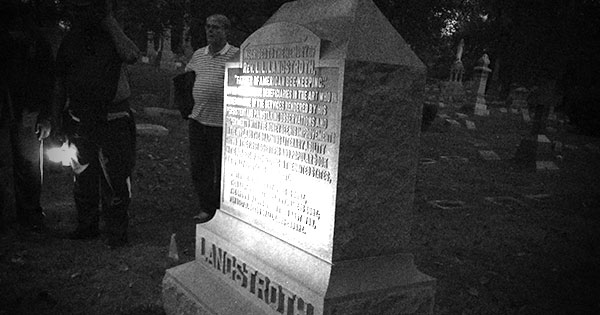 History Mystery, Mayhem & Murder Tour Lantern Tour at Woodland Cemetery