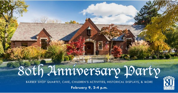 Wright Memorial Public Library 80th Anniversary Party
