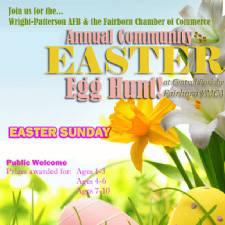 Wright-Patt AFB & Fairborn Chamber Community Easter Egg Hunt