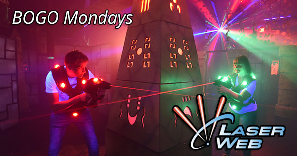 BOGO Mondays at Laser Web