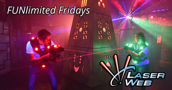 FUNlimited Fridays at Laser Web - suspended