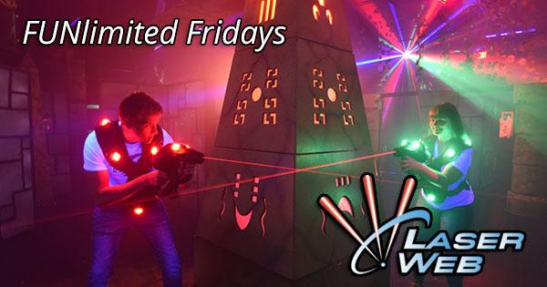 FUNlimited Fridays at Laser Web
