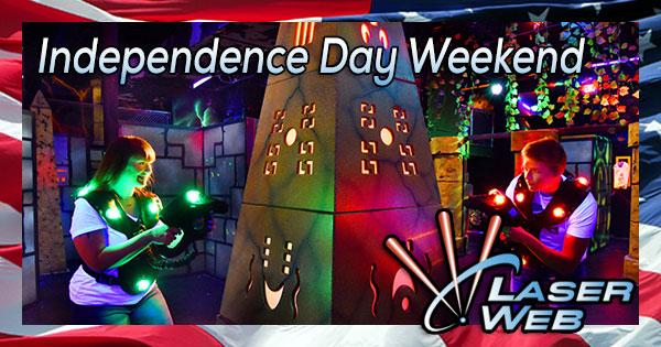 Independence Day Weekend at Laser Web