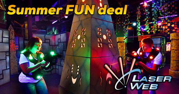 Summer Fun Deal at Laser Web