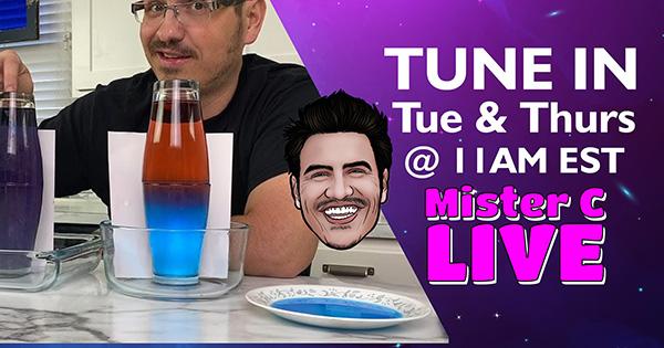 Mister C on Facebook Live