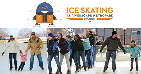 Presidents Day Skate at Riverscape Ice Rink