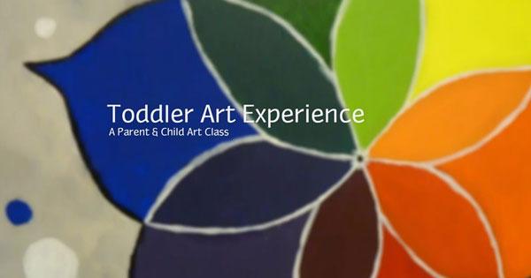 Toddler Art Adventure - A Parent & Child Art