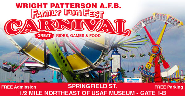 Wright Patterson AFB Family Fun Fest Carnival