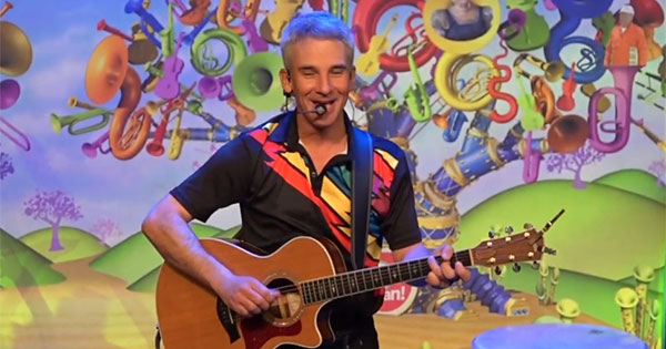 Grammy-Nominated Children's Performer at the Main Library