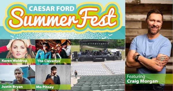 Caesar Ford Summer Fest - postponed