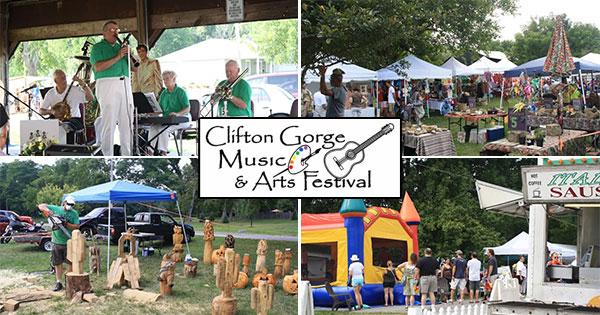 Clifton Gorge Music & Arts Festival