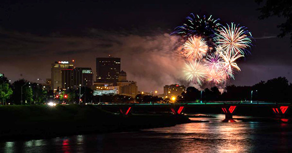 Lights in Flight Festival and Fireworks returns to downtown Dayton