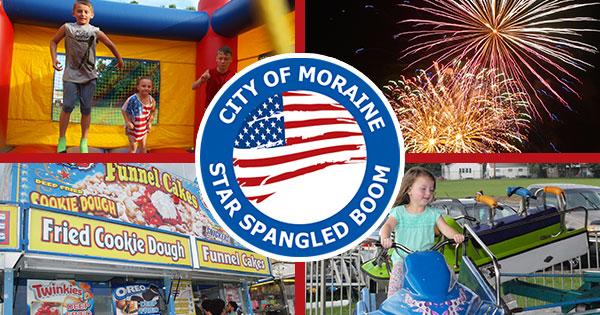 City of Moraine Star Spangled Boom