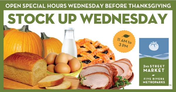 Stock Up Wednesday at 2nd Street Market