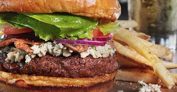$1 Burger Night at Beavercreek Bar Louie