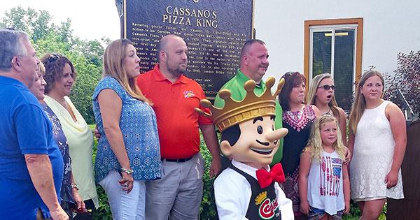 Cassano's Pizza King Receives Ohio Historical Marker