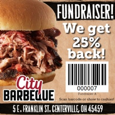 Eat and Support the DPVA at City Barbeque