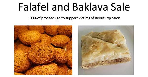 Falafel and Baklava Drive-Thru