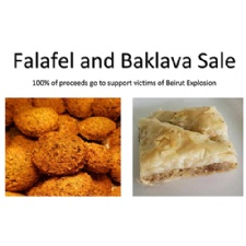 Falafel and Baklava Drive-Thru