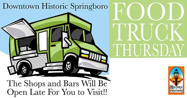 Food Truck Thursday in Springboro