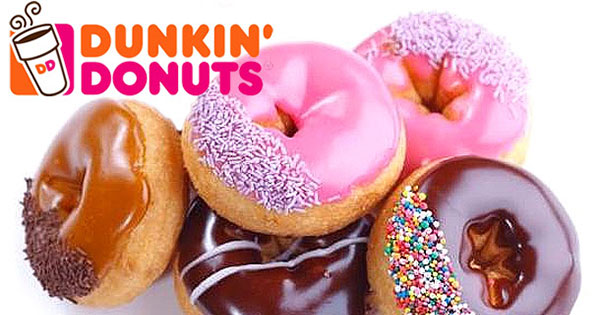 FREE Dunkin Donuts On National Donut Day