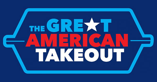 Great American Takeout - March 31