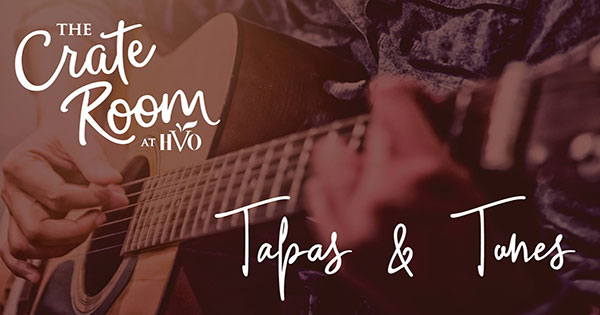 Tapas and Tunes at The Crate Room