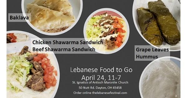 Lebanese Food to Go