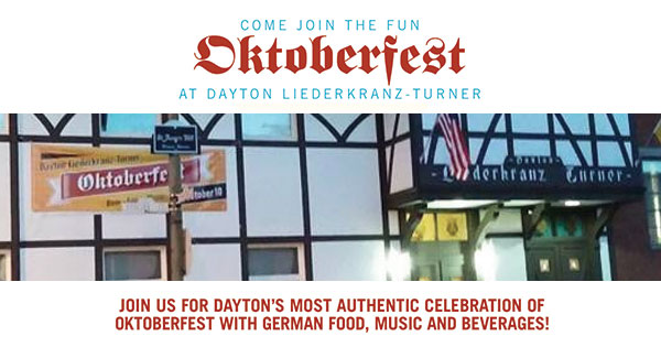 Dayton Liederkranz-Turner - Oktoberfest and German American Day Celebration