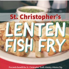 St. Christopher's Fish Fry - canceled