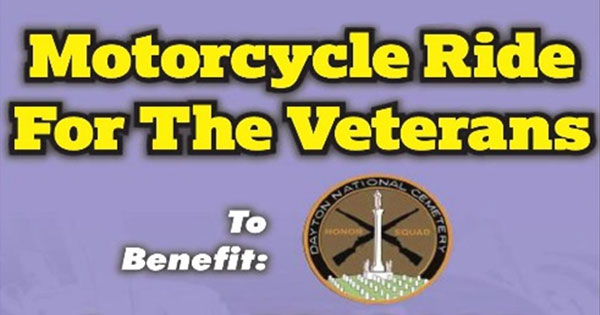 Annual Motorcycle Ride For The Veterans