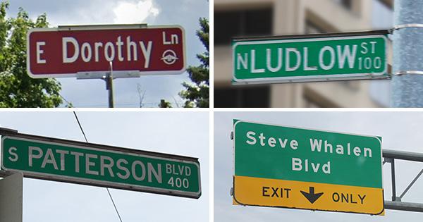 The stories behind Dayton street names