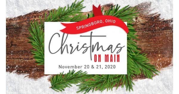 Christmas on Main in Historic Springboro