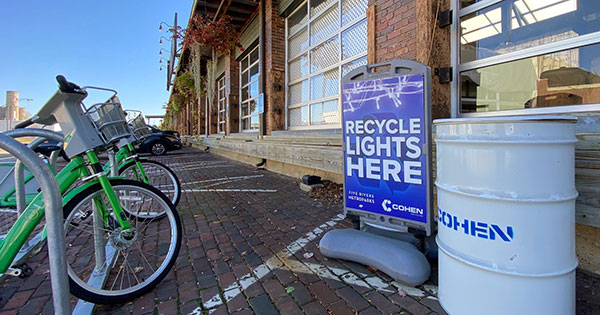 Recycle holiday lights with Five Rivers MetroParks