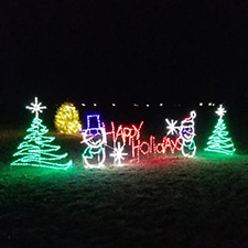 7 Drive-Thru Christmas light displays around Dayton