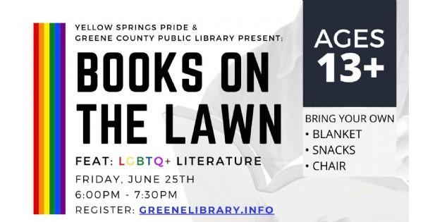 LGBTQ+ Books on the Lawn