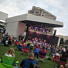 Live music will return to downtown Dayton this summer