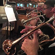 Ohio Valley British Brass Band Holiday Concert at Christ UMC
