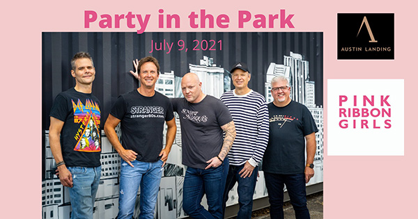 Party in the Park and Food Truck Frenzy featuring Stranger